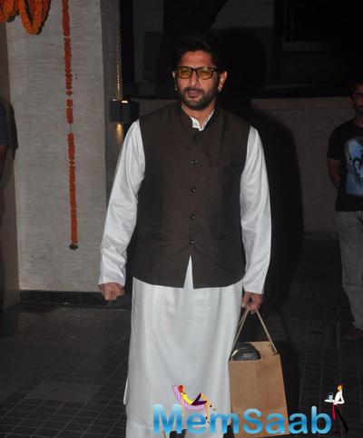 Arshad Warsi Nice Look During Soha Ali Khan And Kunal Khemu Wedding Party