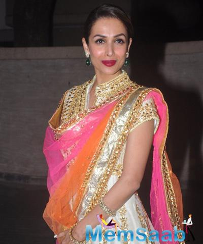 Malaika Arora Khan Stunning Beautiful Look At Soha Ali Khan And Kunal Khemu Wedding Party