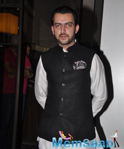 Sahil Sangha Attend The Soha Ali Khan And Kunal Khemu Wedding Party