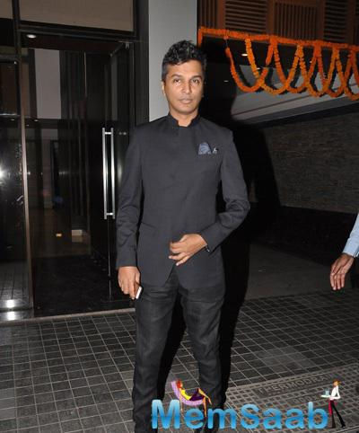 Vikram Phadnis Posed For Camera At Soha Ali Khan And Kunal Khemu Wedding Party