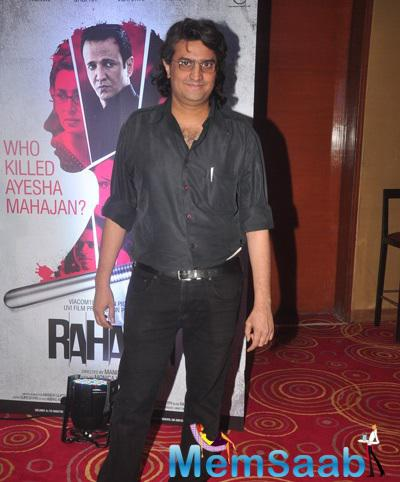 Director Manish Gupta Posed For Camera During The Launch Of Rahasya Film