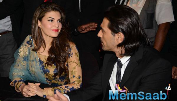 Jacqueline Fernandez And Arjun Rampal Present During The India Art Fair 2015