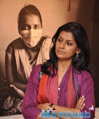 Actress Nandita Das Visits A Photography Exhibition By Sami Siva A