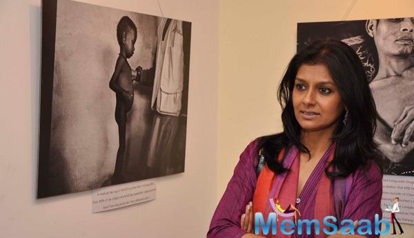 Nandita Das At A Photography Exhibition By Sami Siva In Mumbai