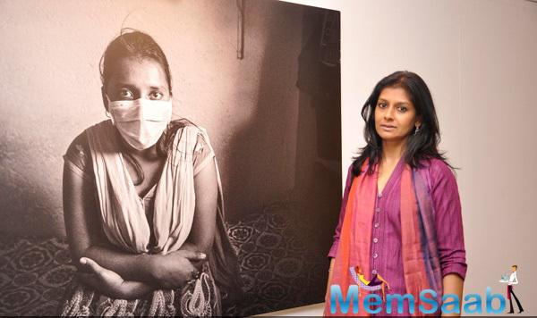 Nandita Das Spotted At Piramal Art For Photography Exhibition By Sami Siva