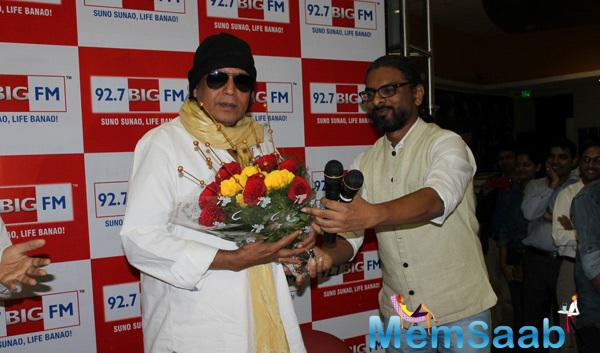 Mithun Chakraborty Welcome By RJ Siddharth