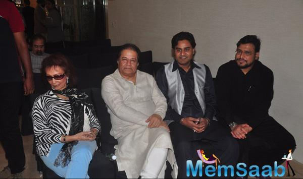 Anup And Chitra Attend Ghazal Day Musical Concert, A Tribute To Jagjit Singh