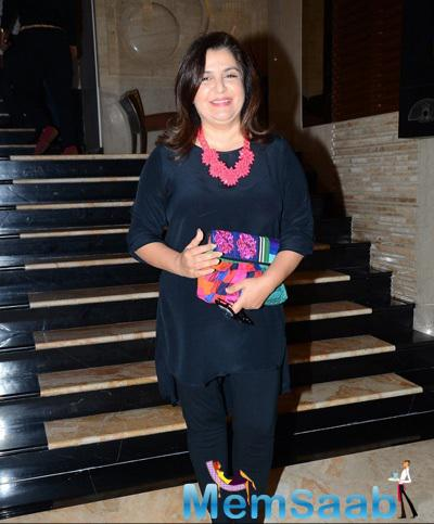 Farah Khan Attended Irshad Kamil's Book Launch Event