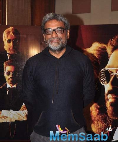 R. Balki Attend The Shamitabh Movie Promotional Event At Mehboob Studio