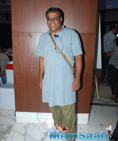 Ashish Vidyarthi Strike A Pose For Shutterbugs At The Book Launch Of Aarya Babbar
