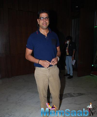 Murli Sharma Posed At The Launch Of Aarya Babbar's Book My Fiancee, Me & #IFU**EDUP