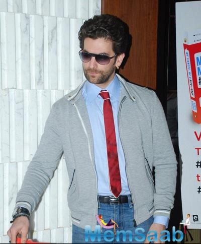 Neil Nitin Mukesh Strikes A Pose During Aarya Babbar Book Launch Event