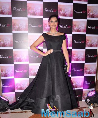 Fashionista Sonam Looks Radiant In This Outfit At The Launch Of Dandelion