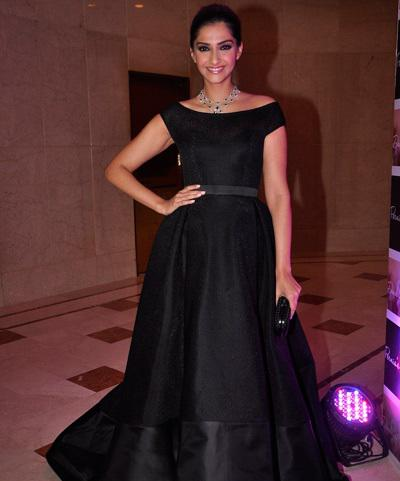 Gorgeous Sonam Kapoor Launch Of Designer Samyukta Nair's Night Wear Label Dandelion