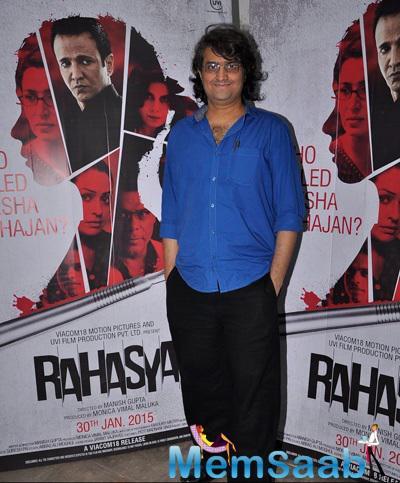 Rahasya Movie Promotion At Mehboob Studio