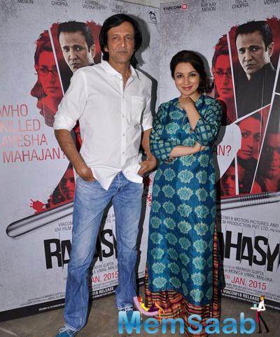 Tisca Chopra And Kay Kay Menon Promote Rahasya