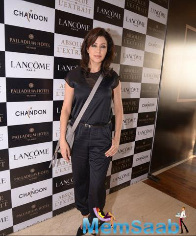 Aditi Gowitrikar Present At Lancome Promotional Event Hosted By Tanaaz Doshi