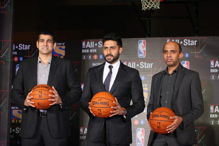 Abhishek Bachchan Attend Nba All-Star 2015 As A Ambassador To The League
