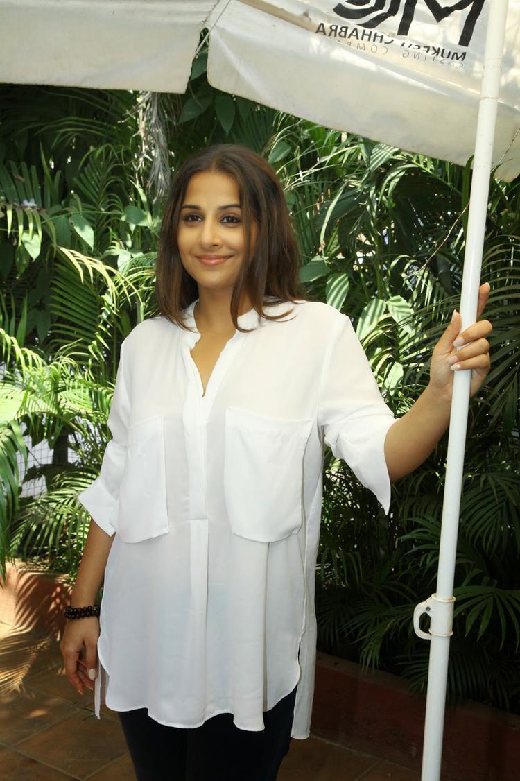 Vidya Balan Attends Mukesh Chhabra's Casting Workshop In Mumbai