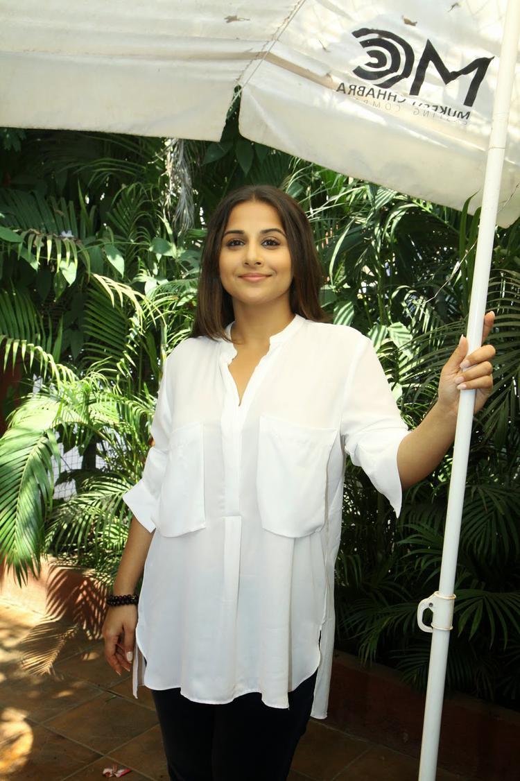 Vidya Balan Looks Stunning At Casting Workshop