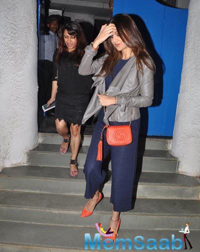 Shamita Shetty Return From The Olive Bar
