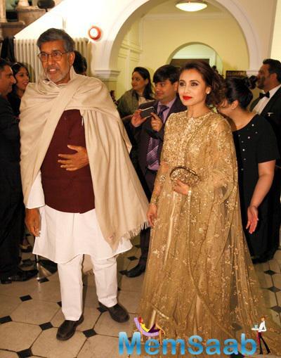 Kailash Satyarthi And Rani Mukerji Attend The Prince Charles Foundation Fundraiser Dinner