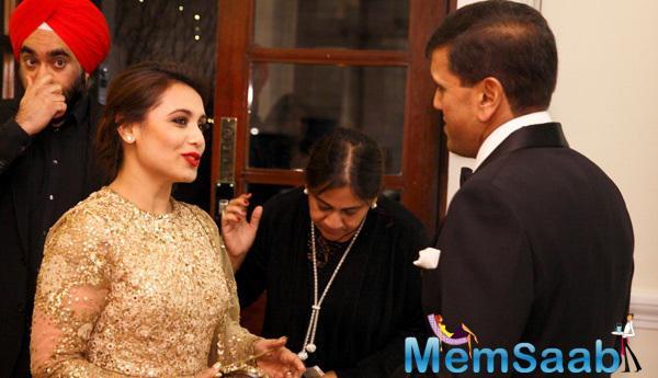 Rani Mukerji Cool Chatting During The Prince Charles Foundation Fundraiser Dinner