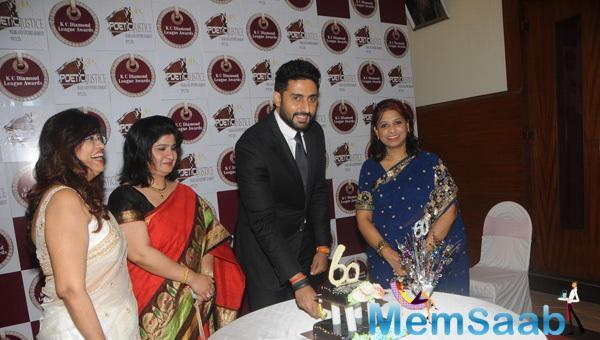 Abhishek Bachchan Celebrates KC College 60th Diamond Jubilee