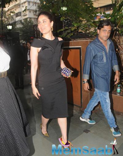 Kareena Kapoor Snapped At KC College 60th Diamond Jubilee Celebrations