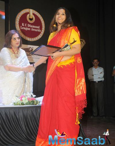 Vidya Balan Attended KC College 60th Diamond Jubilee Celebrations