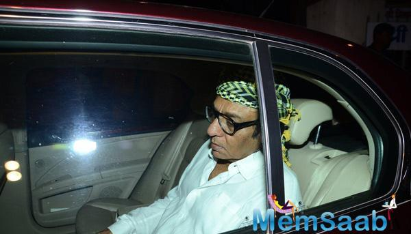 Ranjeet Also Snapped At Danny Denzongpa's Manager's Funeral