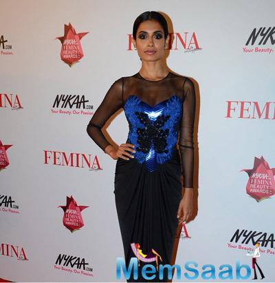Sarah Jane Dias At Femina Beauty Awards 2015
