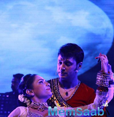 Sandeep Mahavir Performance At The Launch Of Ru-Ba-Ru