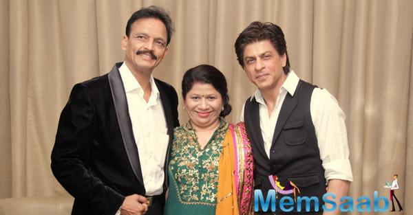 Shah Rukh Khan Attend The Wedding Reception Of Designer Manali Jagtap