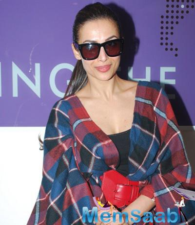 Malaika Arora Khan Stunning Look During The Launch Of Skin Care And Aesthetics Centre