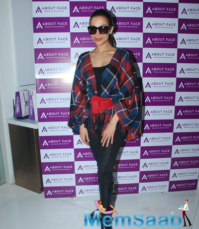 Yummy Mummy Malaika Arora Khan Looked Gorgeous At The Launch Of Skin Care Centre