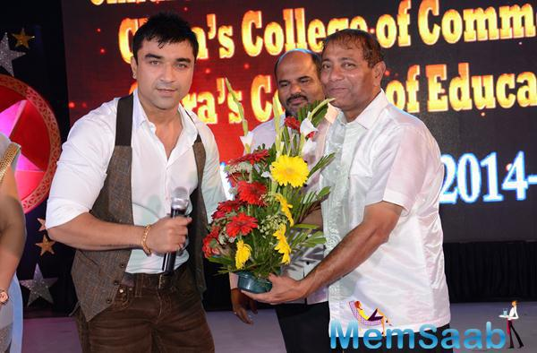 Ajaz Khan Dashing Look During 34th Annual Day Celebration Of Children Welfare Centre