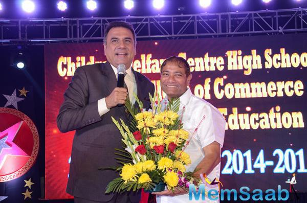 Boman Irani Spoke Few Words During The 34th Annual Day Celebration Of Children Welfare Centre