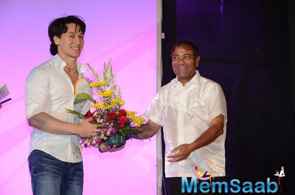 Tiger Shroff Cheerful Look His Ever-Casual Look At 34th Annual Day Celebration Of Children Welfare Centre