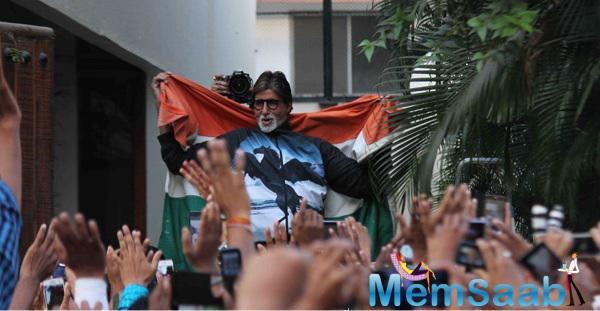 Amitabh Bachchan Celebrates India Win Over Pakistan