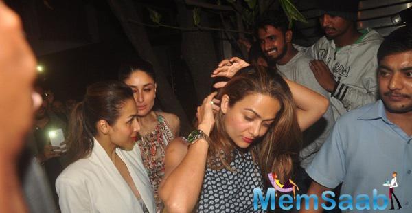 Amrita Arora,Malaika Arora Khan And Kareena Kapoor Khan Arrived Zoya Akhtar Birthday Celebrations