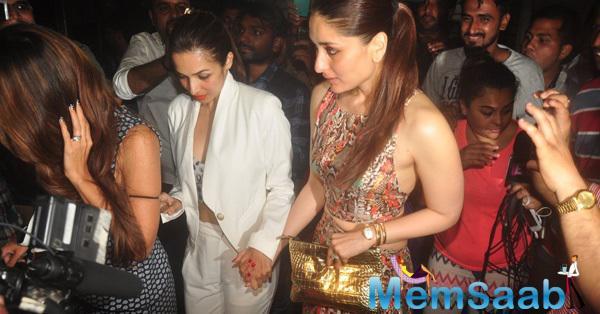 Malaika Arora Khan And Kareena Kapoor Khan Spotted Zoya Akhtar Birthday Party