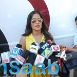 Sona Mhapatra Attended A Press Meet During The Video Shoot Of Film Saavi