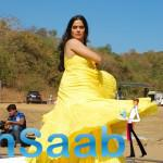 Sona Mhapatra Wearing A Yellow Gown For This Video Shoot
