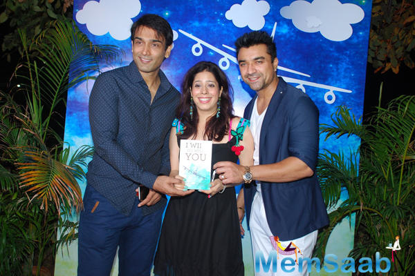 Ajaz Khan Launches Priya Kumar Book I Will Go With You