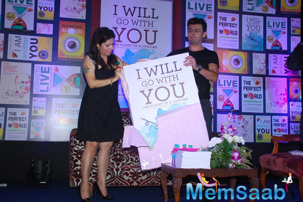 Priya Kumar Book I Will Go With You Launch By Sonu Nigam