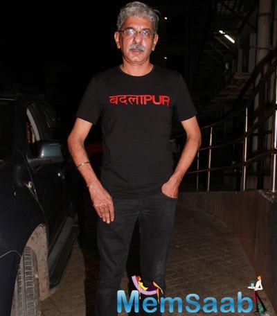 Sriram Raghavan Attend The Badlapur Movie Screening