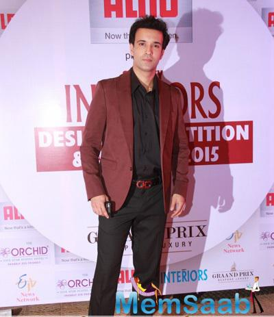 Aamir Ali At Society Interiors Design Competition And Awards 2015