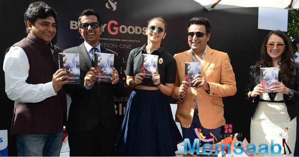Alia Bhatt Launches I Hate Bollywood A Book Authored By Rohit Khilnani