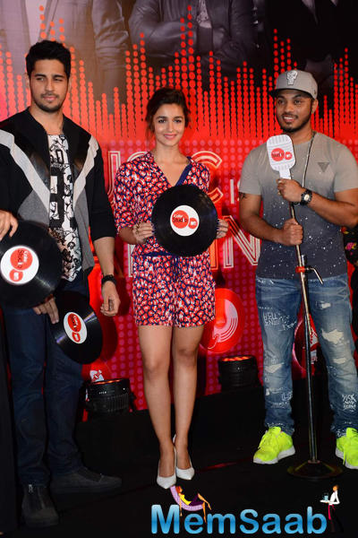 Alia And Sidharth Are Busy With Promotional Activities